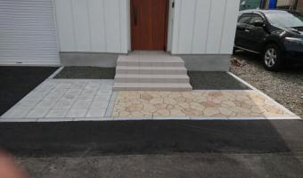 アスファルト舗装・ティーナ・平板