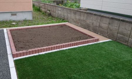 ネオガーデン花壇/黒土