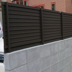 普通ブロック塀施工