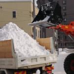 シーズン週一排雪作業2週目