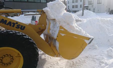 2021年1月29日単発排雪(スポット排雪)状況