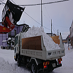 シーズン週一排雪作業5週目