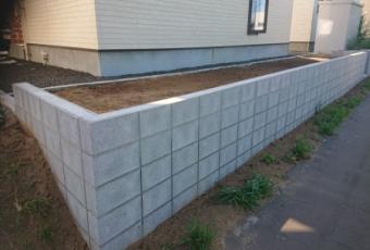 軽量型枠ブロック塀