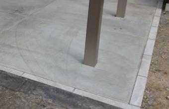 コンクリート土間縁石