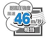 46m/秒